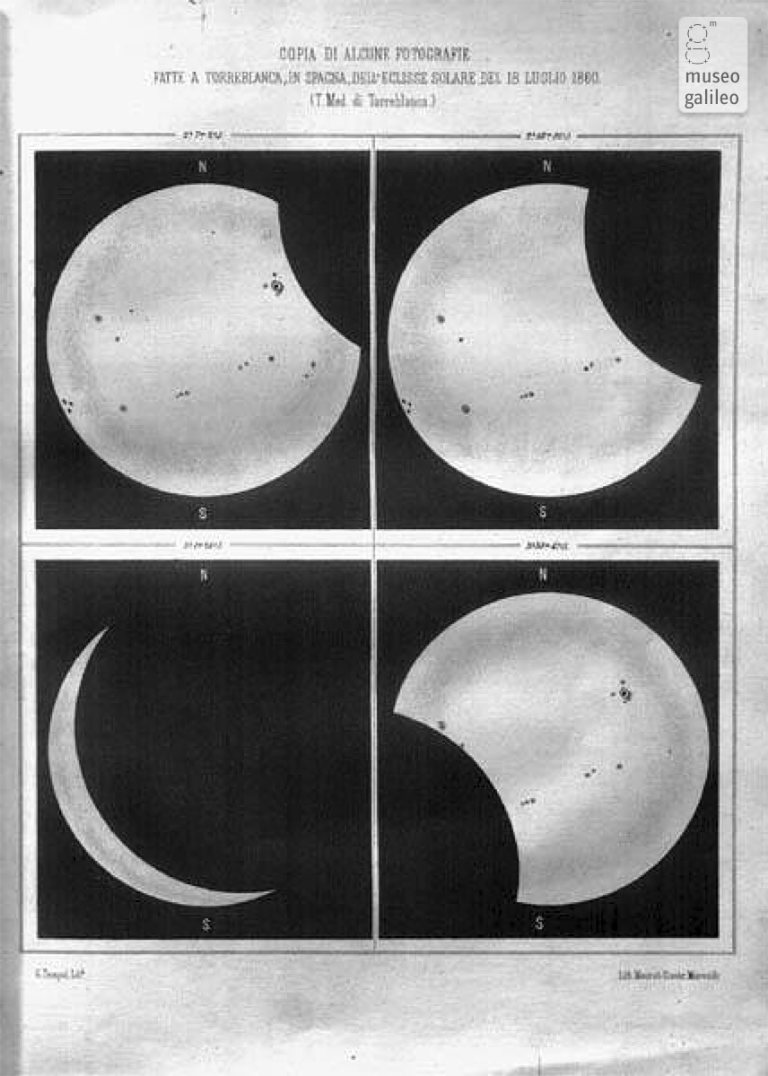 Total solar eclipse, 18 July 1860