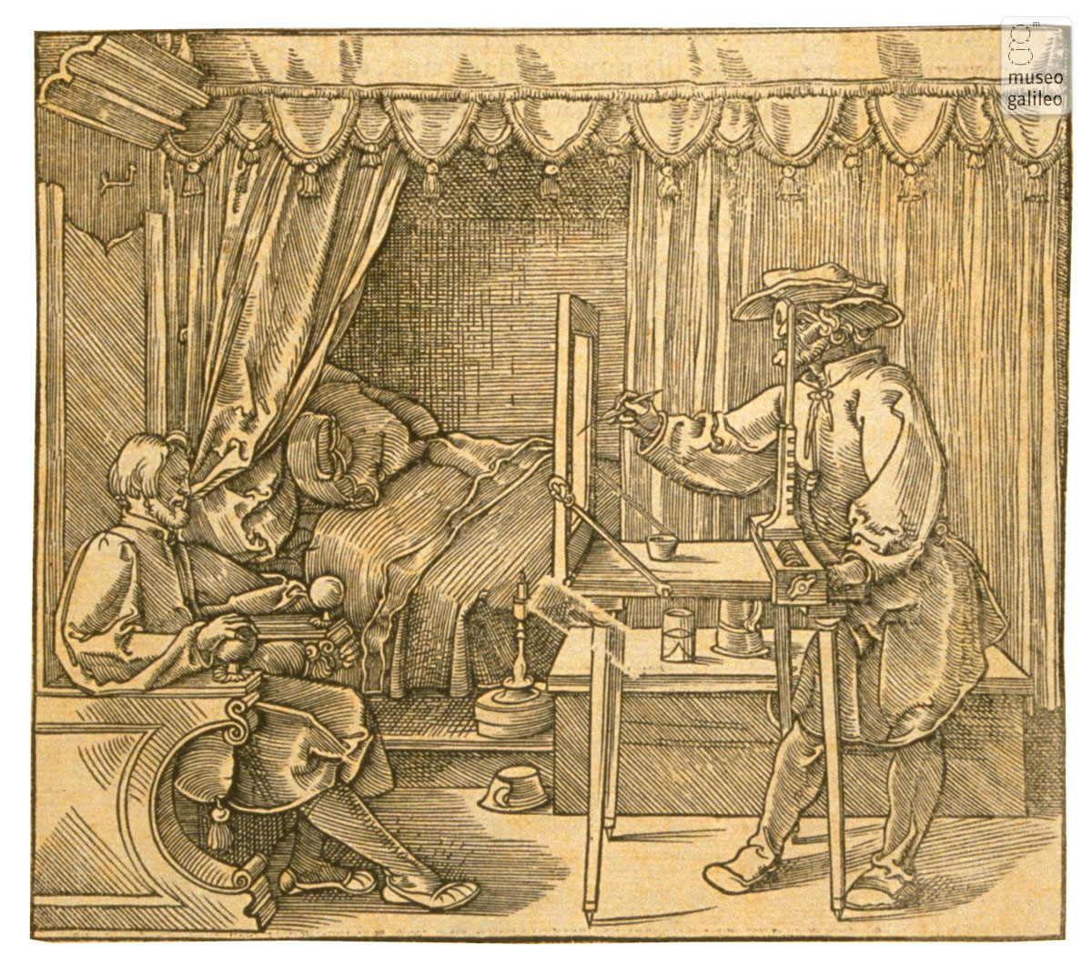 Instrument for making portraits (1532)