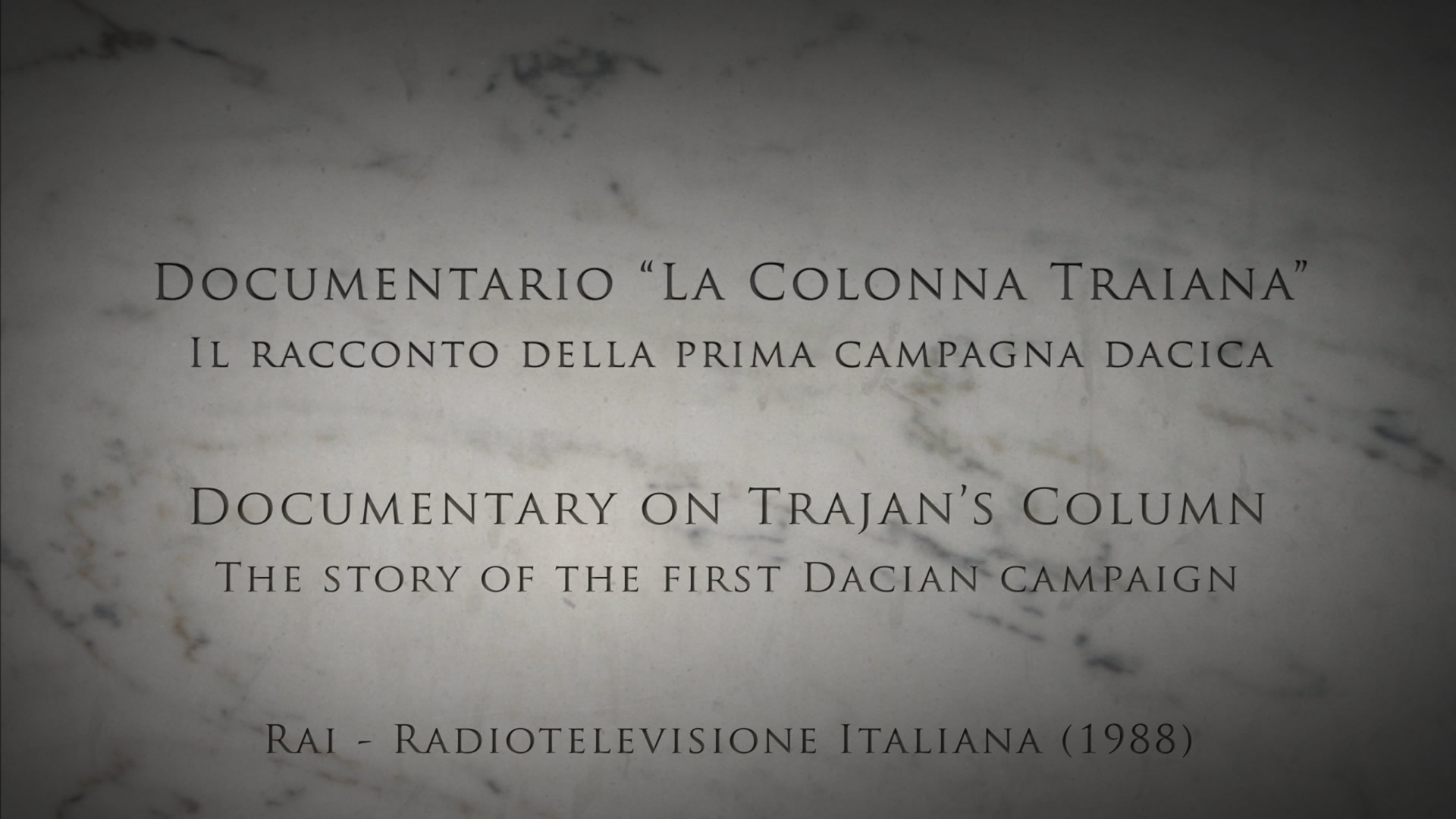 Documentario - La Colonna Traiana