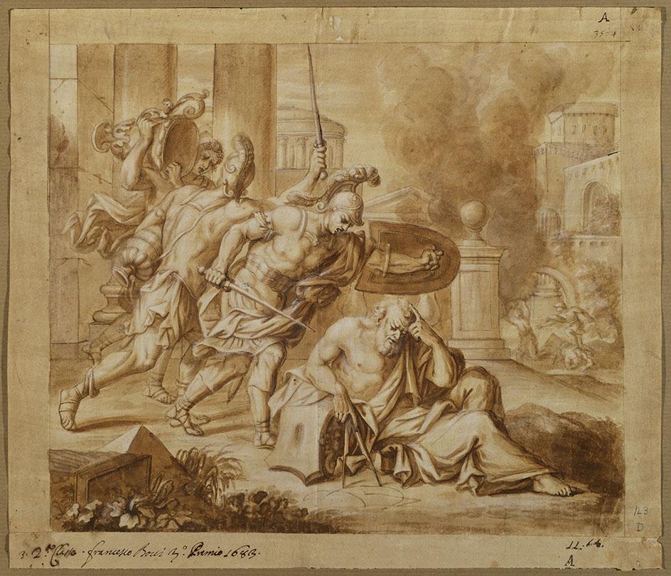 Archimede francesco bovi morte di archimede for A archimede