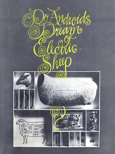 Copertina di Philip K. Dick, Do Androids Dream of Electric Sheep?