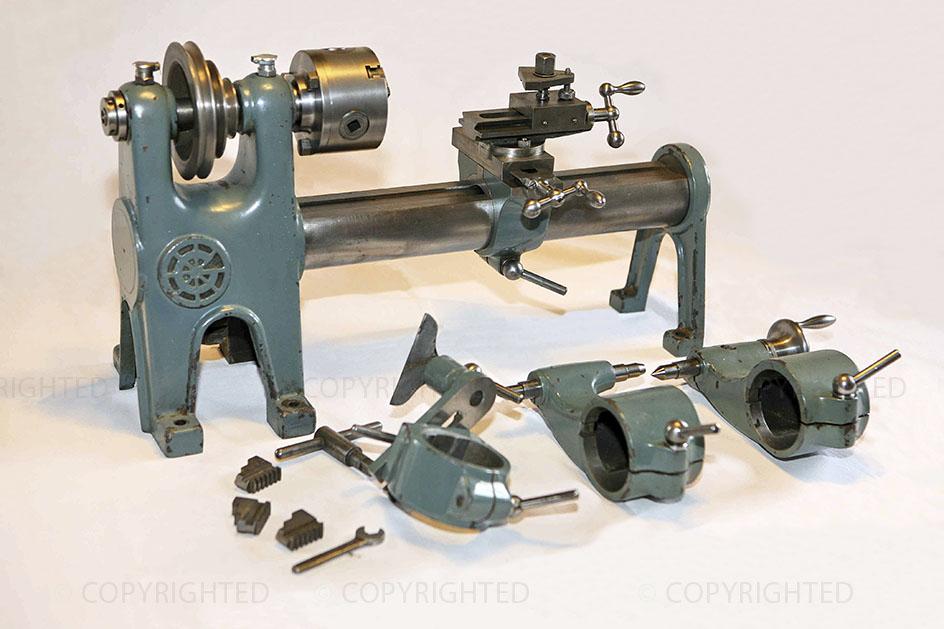 Officine galileo piccolo tornio con accessori for Piccolo tornio per metalli usato