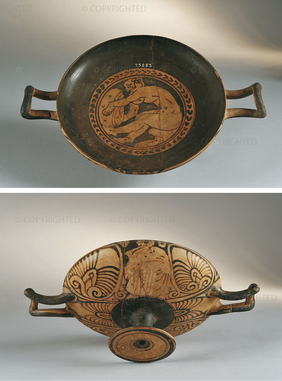 Kylix falisca a figure rosse